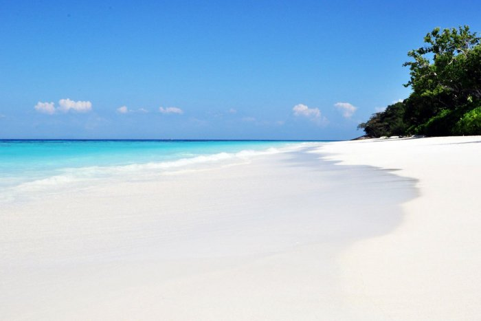 White Sandy Beach
